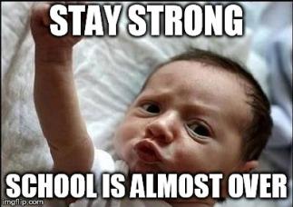 be-strong-school-meme